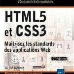 Livre : HTML5 et CSS3 - Maîtrisez les standards des applications Web