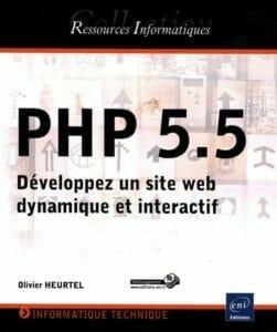 Commandez le livre PHP 5.5 Développez un site web dynamique et intéractif